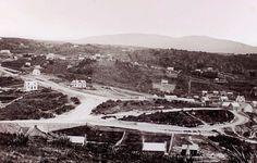 The Octagon, Dunedin 1860 New Zealand Long Gone, Back In Time, Genealogy, New Zealand, Paris Skyline, The Past, Public, Memories, History