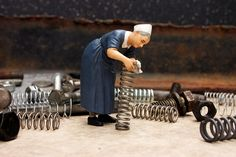 Miniature Photography: Spring Cleaning..