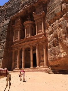 Petra in Jordan | 29 Instagram-Worthy Places To Travel