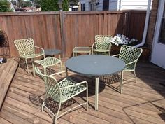INNOVATIVE SUMMER TRENDS FOR YOUR VINTAGE PATIO SETS_see more inspiring articles at http://vintageindustrialstyle.com/innovative-summer-trends-vintage-fondness/2/