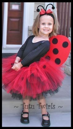 Wonder how many years I will make her be a lady bug? Probably til she can make her own mind up.