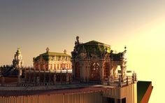 Zwinger The Rococo Palace Aliquam Minecraft Project