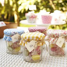 jam jars filled with sweets to make - Fundraising ideas to make for a fête - Craft - allaboutyou.com