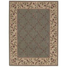 Nourison Somerset Green Area Rug