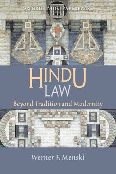Check out our New Product  Hindu Law COD  AUTHOR:  Werner F MenskiPublication date: 10.09.2008  Rs.795