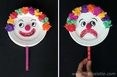 clown crafts for children - Google Search