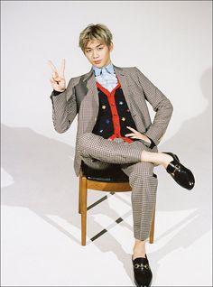 KANG DANIEL FOR GQ KOREA (JANUARY ISSUE)