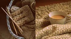villahaka: Aamu-sukat + OHJE Burlap, Reusable Tote Bags, Knitting, Hessian Fabric, Tricot, Breien, Stricken, Weaving, Knits