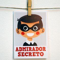 Admirador secreto, ilustración original by Pintachan.