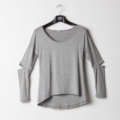 Outsiders Long Sleeve Shirt Available in grey and black. Shirt Sleeves, Long Sleeve Shirts, Baggy Tops, Chill, Grunge, Comfy, Retro, Grey, Instagram Posts