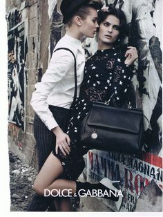 The androgynous/homoerotic dolce and gabbana ads are usually pretty amazing in my humble opinion. www.fashion.net
