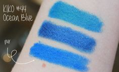 Kiko Stick Eyeshadow Ocean Blue #44  #eyeshadowswatch #kikocosmetics #kiko #beautyblogger #swatch