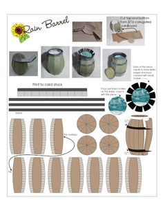 Rain Barrel - hkKarine1 - Picasa Web Albums #how_it_works #conservation #diy