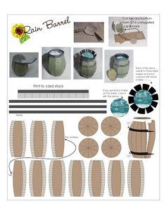 Rain Barrel - hkKarine1 - Picasa Web Albums #how_it_works #conservation #diy