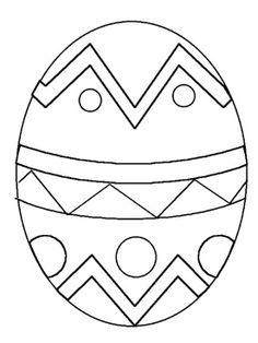 easter egg plain free large images spring art pinterest easter
