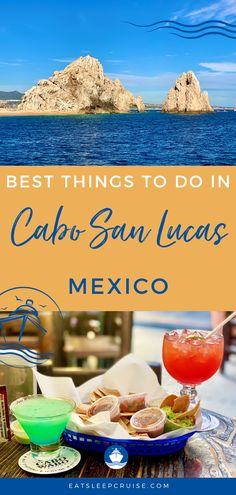 Are you dreaming of a cruise vacation along the Mexican Riviera? If so, you will likely stop in the cruise port of Cabo San Lucas. This city is full of history and culture as well as nature and adventure, from the beach to local food at the restaurants. If your time is limited, you may not know where to start. Here we share the best things to do in port. Check out our post to make the most of your time. #CaboSanLucas #Mexico #MexicanVacation #MexicanRiviera #CruiseVacation #Excursions