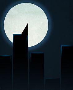Héros minimaliste #batman