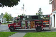 Potsdam Fire Department NY - #Rescue #Setcom #Fire #FireDept #Apparatus #Firefighting