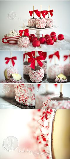Chocolate Peppermint Apples