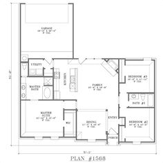 open floor plans open floor plan - Open Floor Plans