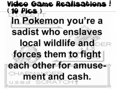 Video Game Realisations (10 Pics)!...........this is quite depressing