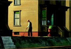 Edward Hopper, Pennsylvania Coal Town (Ville minière de Pennsylvanie), 1947. Youngstown, Ohio, The Butler Institute of American Art Collection, achat du musée, 1948.