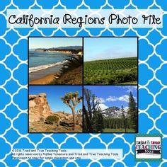 California Regions Brochures Upper Elementary Pinterest