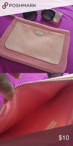 Chloe. Make-up clutch Excellent condition. Made well enough to use aa a purse. 10.5 x 7 Chloe Bags Cosmetic Bags & Cases