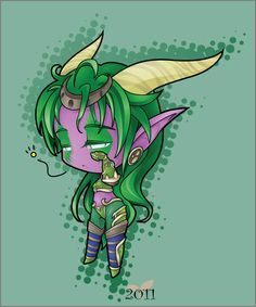 world of warcraft- Ysera chibi