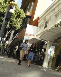 Downtown LA Walks :: Popular Routes: Shopping