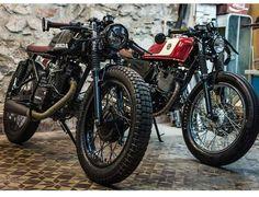 Cafe Bike, Cafe Racer Motorcycle, Custom Cycles, Custom Bikes, Honda Motorsports, Honda 125, Rv Truck, Brat Cafe, Cafe Racing
