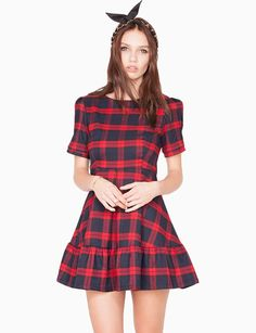 Plaid dress - Shop the latest Fashion Trends