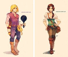 These Gender-Swapped Disney & Dreamworks Characters Will Make You Rethink the Films