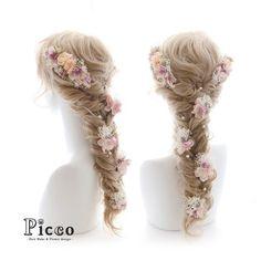 Gallery 224  Order Made Works Original Hair Accessory for WEDDING  #アンティーク & #ナチュラル な 雰囲気の #小花 でまとめた #ラプンツェル ふう仕上げ #✨ さりげなく覗く #パール が #素敵 # #結婚式 #前撮り #オーダーメイド #カラードレス #髪飾り  # #花飾り #造花 #ヘアセット #ヘアアレンジ #フィッシュボーン #花嫁 #ドレス  #hairdo #flower #hairaccessory #picco #kimono #wedding #bridal #dress #rapunzel #princess  Twitter , FACEBOOKページ始めました→「picco」で検索 いいね、フォロー宜しくお願いします。
