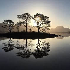 Photo by Jim Richardson. @jimrichardsonng  Stunning calm morning looking out on Loch Maree in the Highlands of Scotland. Up way before dawn but it was worth it. Still working on the Scottish Moors. More to follow. @natgeocreative #scotland #nature by natgeo
