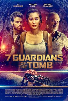 Starring Li Bingbing, Kellan Lutz, Wu Chun, and Kelsey Grammar, 7 Guardians of the Tomb has you sympathizing with murderous spiders. The Chinese-Australian production is currently available on VOD and digital HD and will drop on DVD/Blu-ray April 24. #7GuardiansoftheTomb #moviereview #LiBingBing #KellanLutz #WuChun #KelseyGrammar #scifi #sciencefiction #horror #thriller #adventure #Movies #foreignfilm #China #Australia #streaming #GravitasVentures