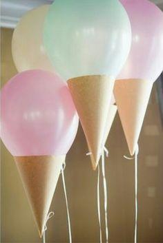 balonlarla oda süsleme
