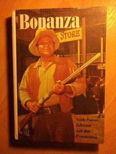 German book BONANZA 1968 LANDON BLOCKER PERNELL ROBERTS NOT SHIRTLESS ACTOR BOYS