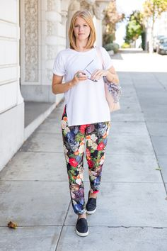Silk Pants in the City - A PIECE of TOAST // Lifestyle + Fashion Blog // Texas + San Fran