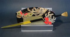 Japanese kushi & kanzashi.