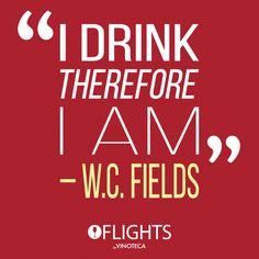 ¿Qué tal esta frase para el inicio de semana? #WineLovers #Flights #Vinoteca #Perfect