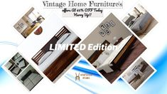 Vintage Home Was Come Some Limited Edition Furniture That Is Very Unique So Visit & See The Premium Limited Edition Stocks.