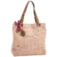 Fossil Women`s Penelope ZB5162 Tote,Salmon,One Size