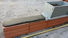 Como assentar tijolos com gabarito deslizador de massa ou aplicador de a...