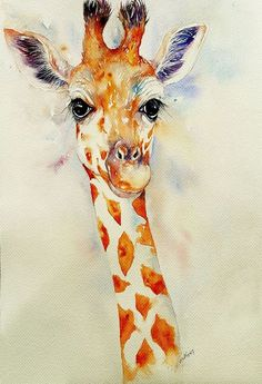 Buy Gillian_ the Giraffe, Watercolor by Arti Chauhan on Artfinder. Discover thousands of other original paintings, prints, sculptures and photography from independent artists.
