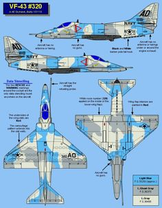 "A4-E Skyhawk VF-43 ""Aggressor"""