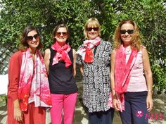 Another good occasion to support the #BrestCancerAwareness initiative. Yesterday, designer Saz Mifsud paid a visit to our school and everyone fell in love with her wonderful #scarves. All the proceeds have been donated to #EuropaDonnaMalta. More pics https://www.facebook.com/maltansts/timeline/story?ut=43&wstart=0&wend=1446361199&hash=-4109329500531020705&pagefilter=3