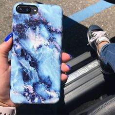 Feels like Friday Geode Case for iPhone 7 & iPhone 7 Plus from Elemental Cases - Blue Iphone 8 Case - Ideas of Blue Iphone 8 Case. - Feels like Friday Geode Case for iPhone 7 & iPhone 7 Plus from Elemental Cases Cheap Iphone 7 Cases, Iphone 6 Plus Case, Cute Phone Cases, Iphone Phone Cases, Phone Cover, Ipod Cases, Phone Cases Marble, Marble Case, Pink Marble
