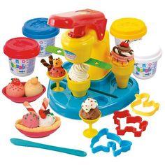 Smiki, Zestaw masy plastycznej do robienia lodów, gratis 4 słoiczki