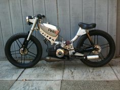JC Penney Pinto Moped Race Version. Lot's of love and work to transform The Pinto into this Classic!